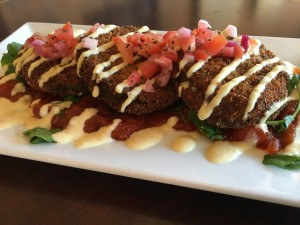 Fried Green Tomato Stack